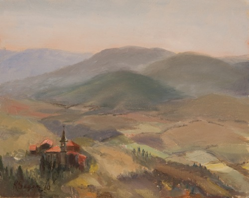 Tuscany, View from Cortona