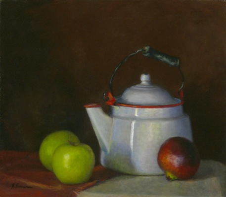 Teapot w Apples