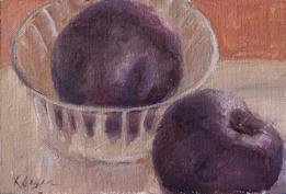 plums study 4x6